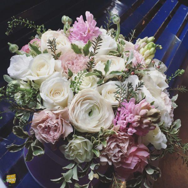 Корзина цветов #106