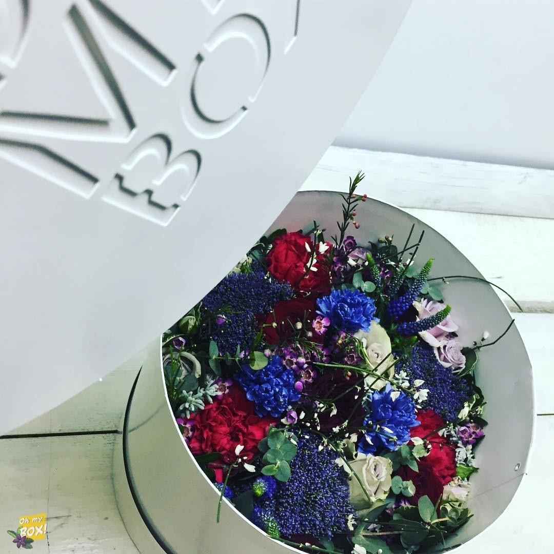 Коробка цветов ohmybox #23