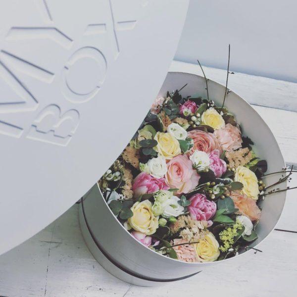 Коробка цветов ohmybox #25