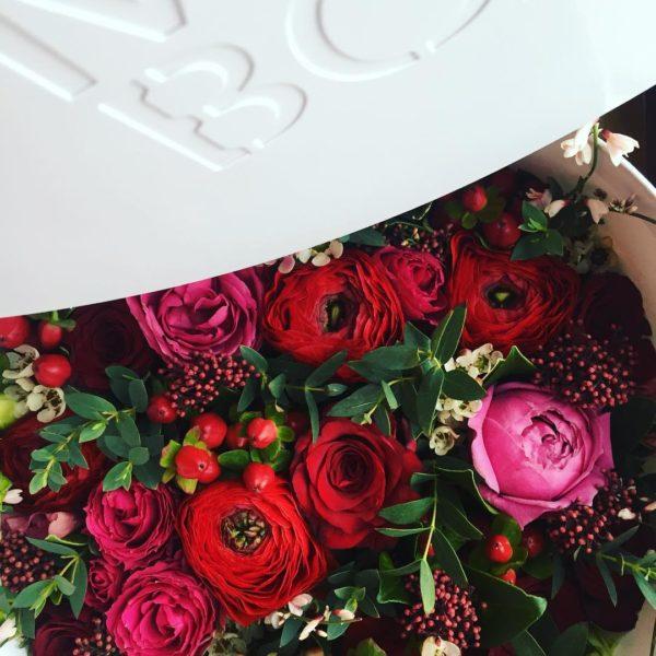 Коробка цветов ohmybox #28