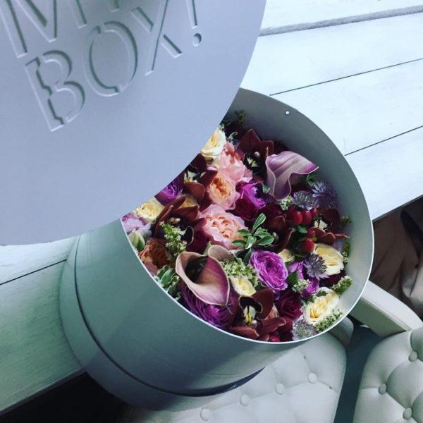 Коробка цветов ohmybox #33