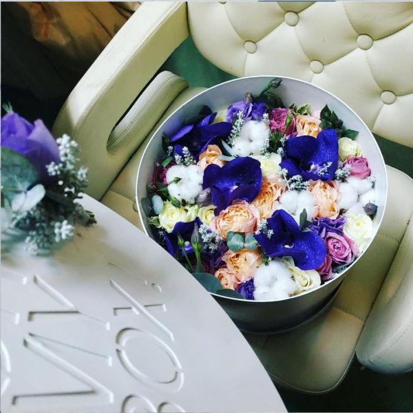 Коробка цветов ohmybox #34