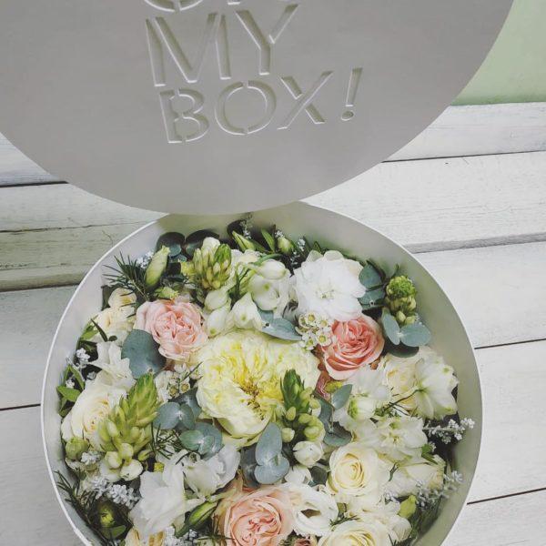 Коробка цветов ohmybox #38