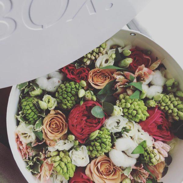 Коробка цветов ohmybox #40