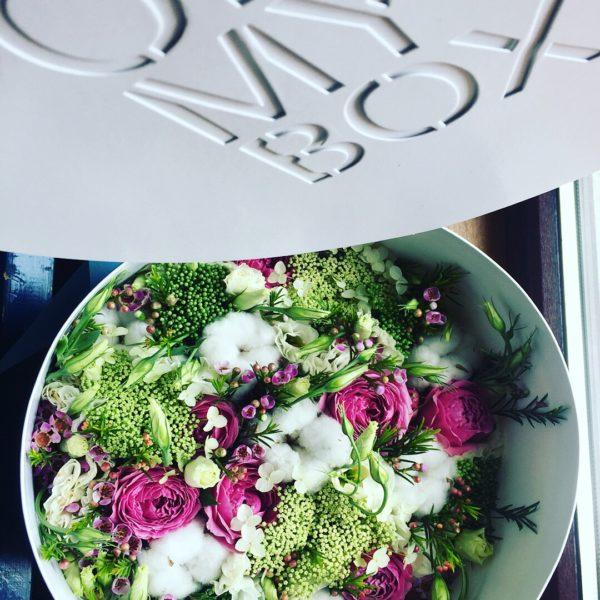 Коробка цветов ohmybox #42