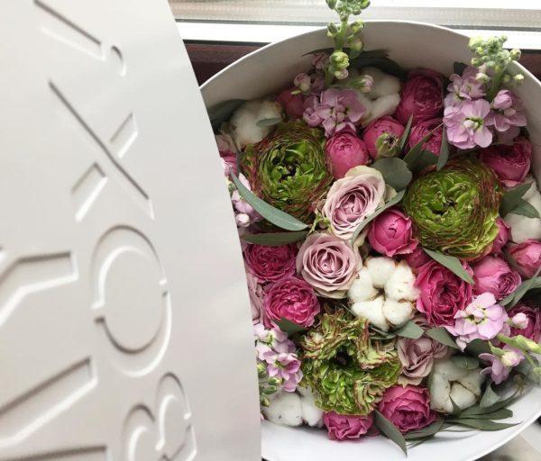 Коробка цветов ohmybox #46
