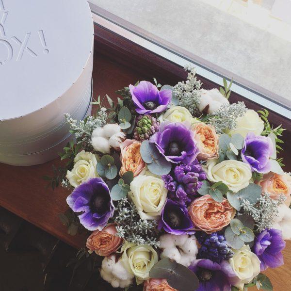 Коробка цветов ohmybox #48