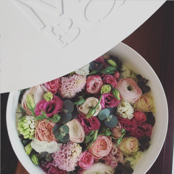 Коробка цветов ohmybox #49