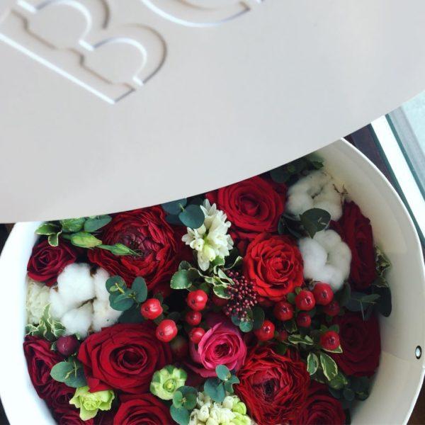 Коробка цветов ohmybox #50