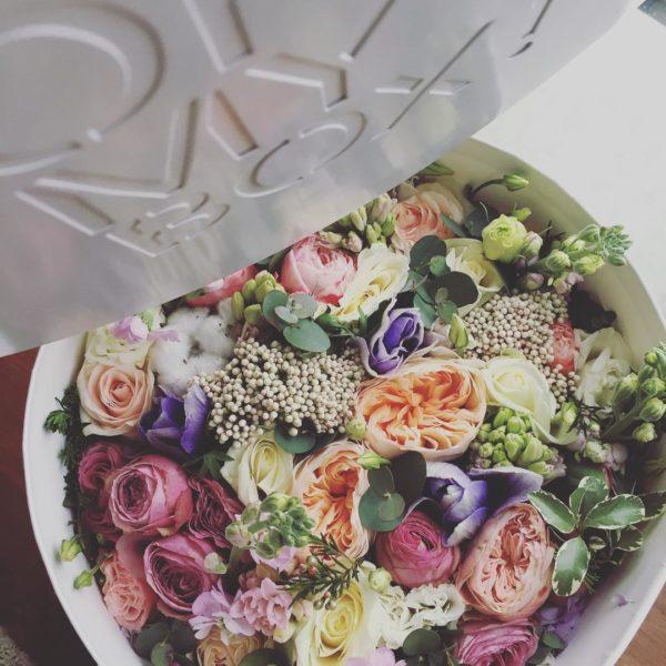 Коробка цветов ohmybox #51