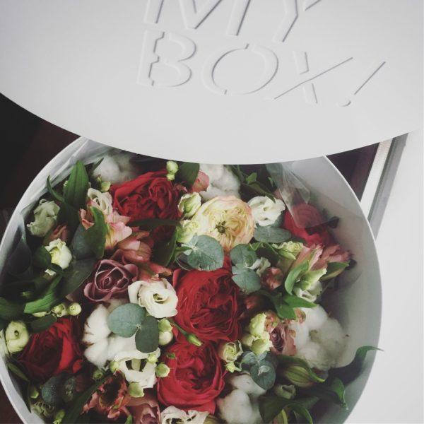 Коробка цветов ohmybox #54