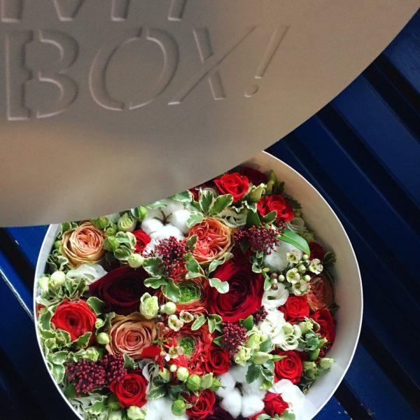 Коробка цветов ohmybox #55