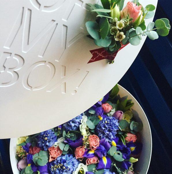 Коробка цветов ohmybox #57