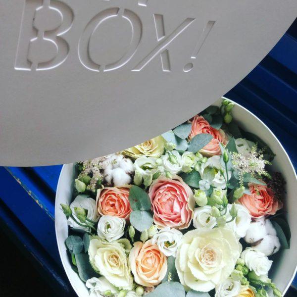 Коробка цветов ohmybox #58