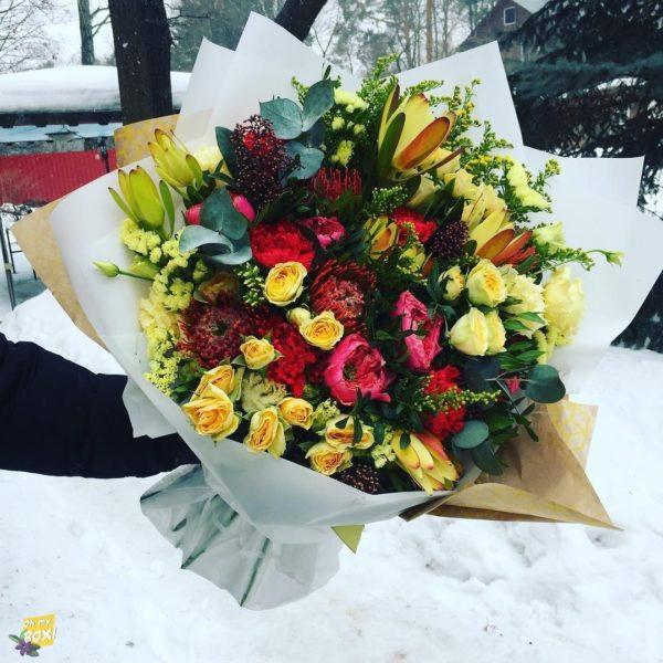 Букет цветов #61