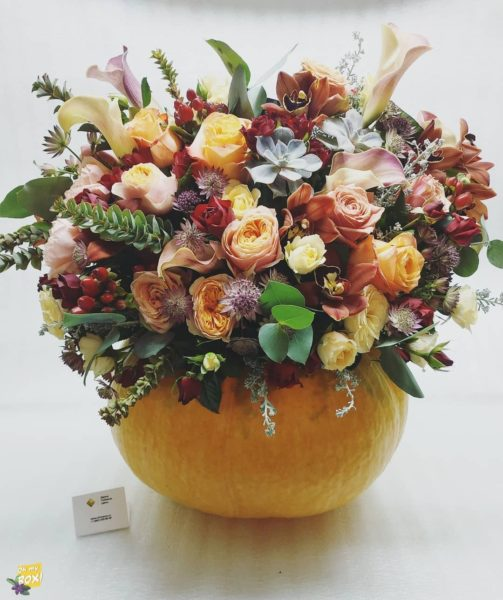 Корзина цветов #83