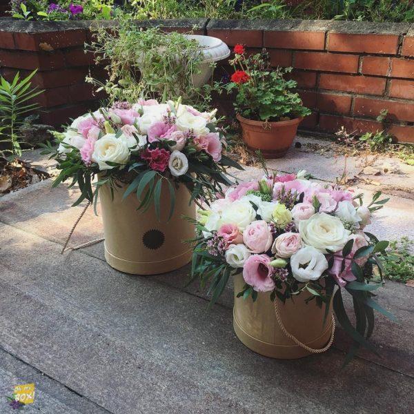 Корзина цветов #84