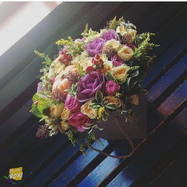 Корзина цветов #85