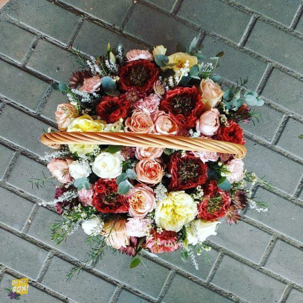 Корзина цветов #86