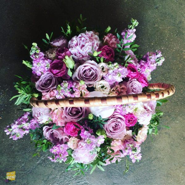 Корзина цветов #88
