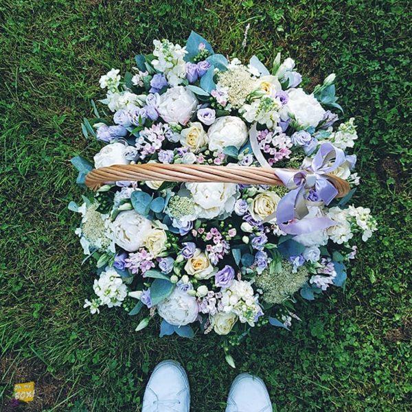 Корзина цветов #89