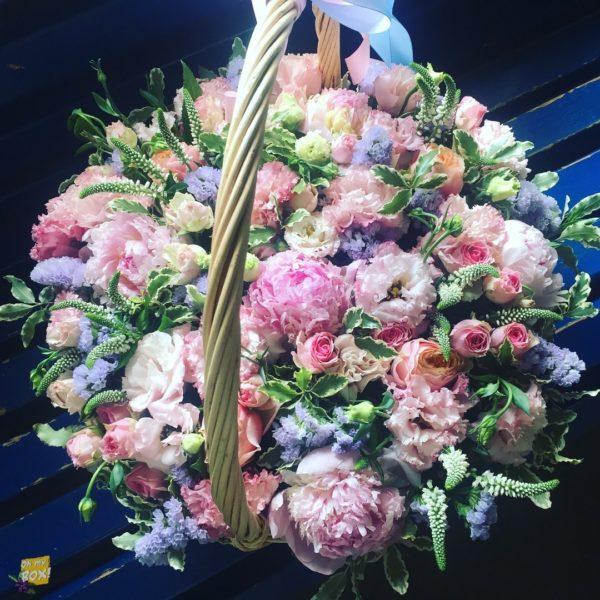 Корзина цветов #90