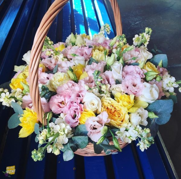 Корзина цветов #93