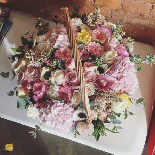 Корзина цветов #94