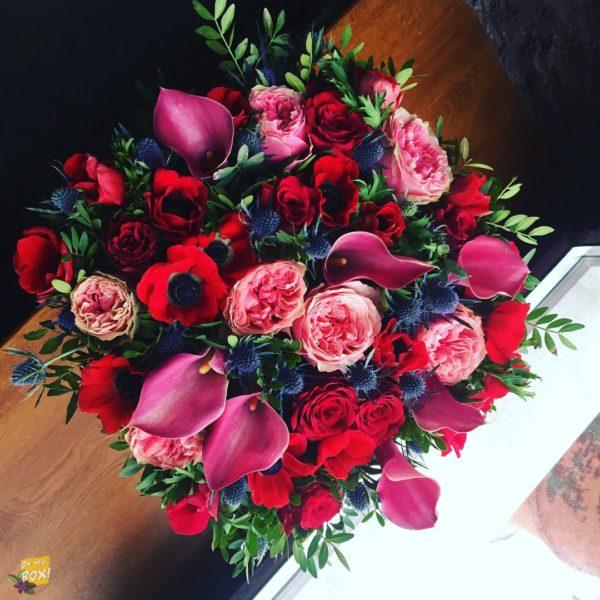 Корзина цветов #95