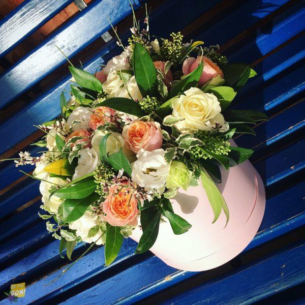 Корзина цветов #96