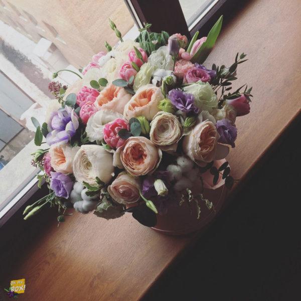 Корзина цветов #97